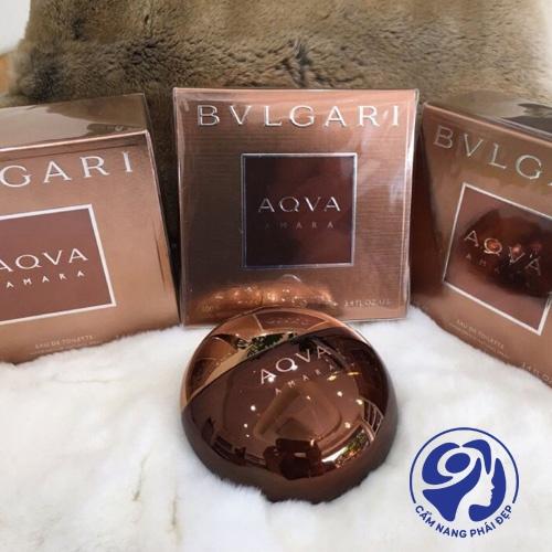 Nước hoa nam Bvlgari Aqva Amara