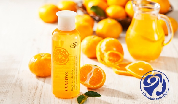 Innisfree Tangerine Vita C Skin