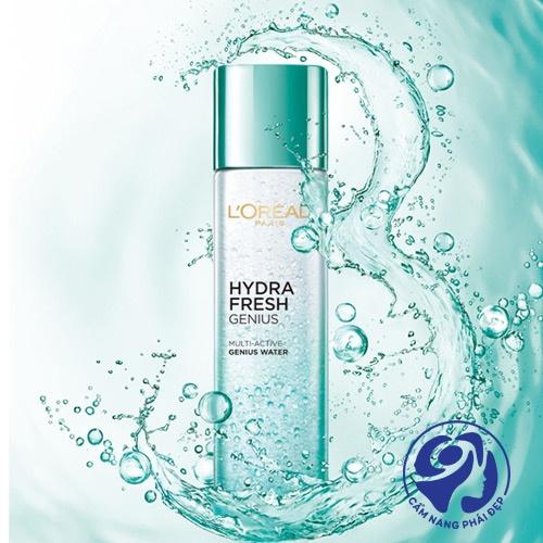 Nước hoa hồng LOreal Hydrafresh Genius