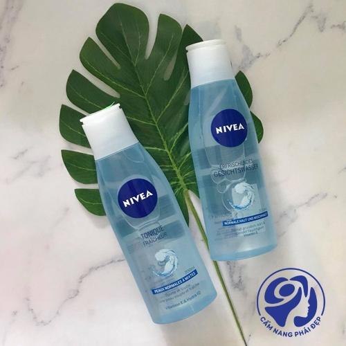 Nước hoa hồng Nivea có mấy loại?