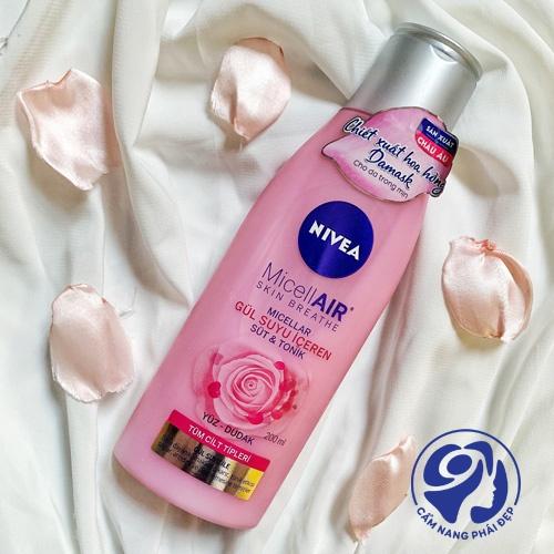 Nước hoa hồng Nivea 200ml giá bao nhiêu?