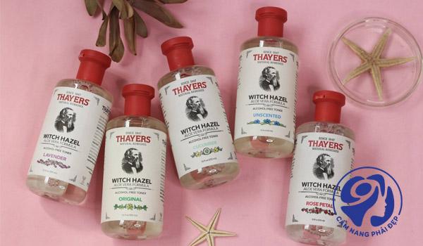 Nước hoa hồng Dickinson's và Thayer – sản phẩm nào tốt hơn?