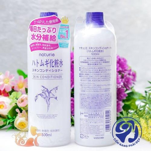 Nước hoa hồng Naturie sử dụng như thế nào?