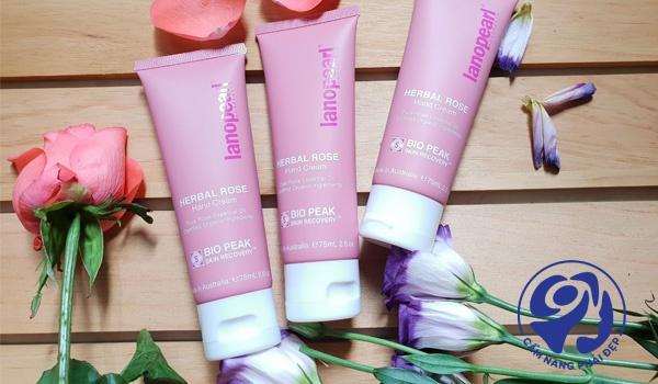 Lanopearl Bio Peak Herbal Hand Cream