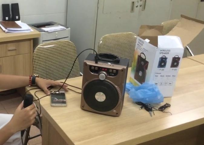 Loa Bluetooth Karaoke P88