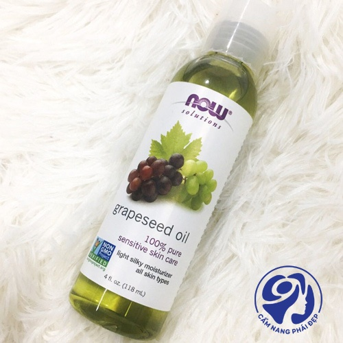Grapeseed Oil của Now Solution