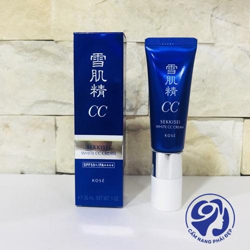 Kose Sekkisei White CC Cream SPF50+