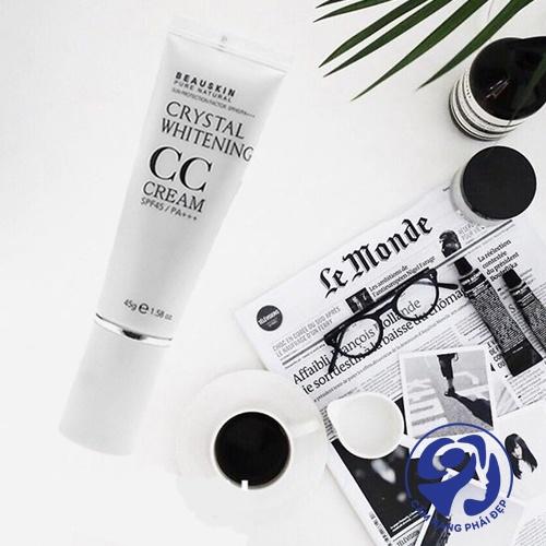 Beauskin Crystal Whitening CC Cream SPF45 PA+++