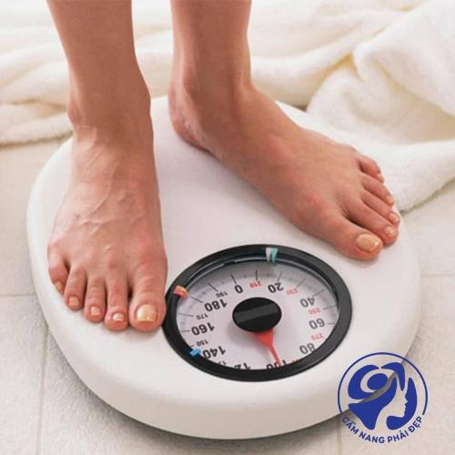Đối với cân nặng