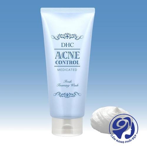DHC Acne Control Fresh Foaming Wash