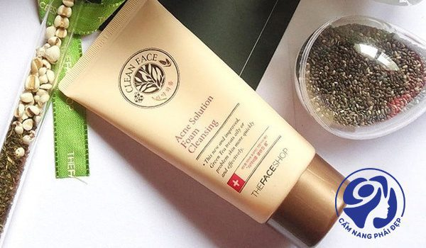 The Face Shop Clean Face Acne Solution Foam Cleanser