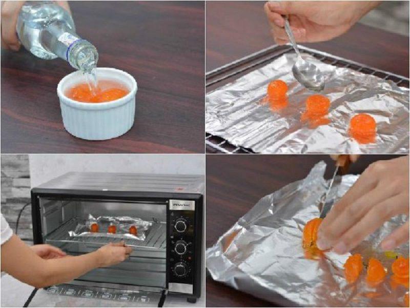 cách làm trứng muối