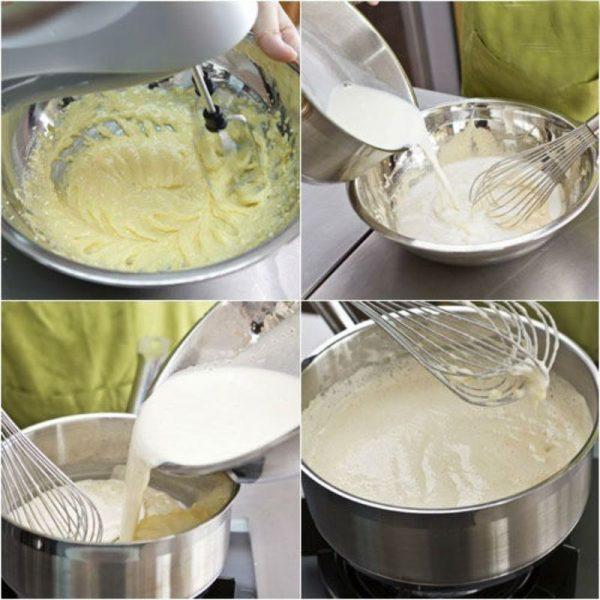 cách làm nhân bánh su kem