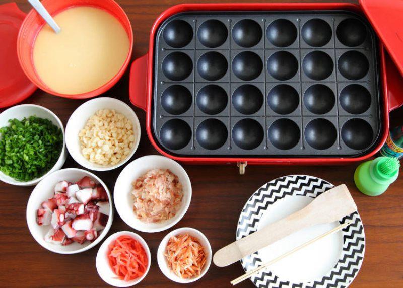 cách làm takoyaki tại nhà