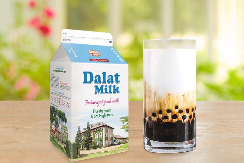 nguyên liệu làm sữa tươi trân châu đường đen
