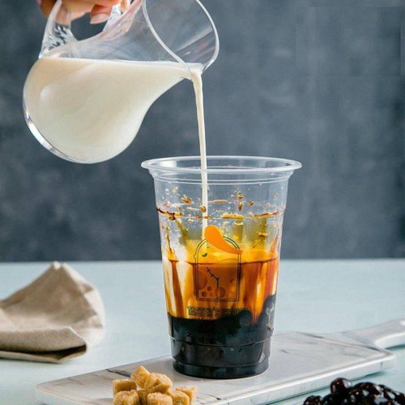 cách pha sữa tươi trân châu đường đen