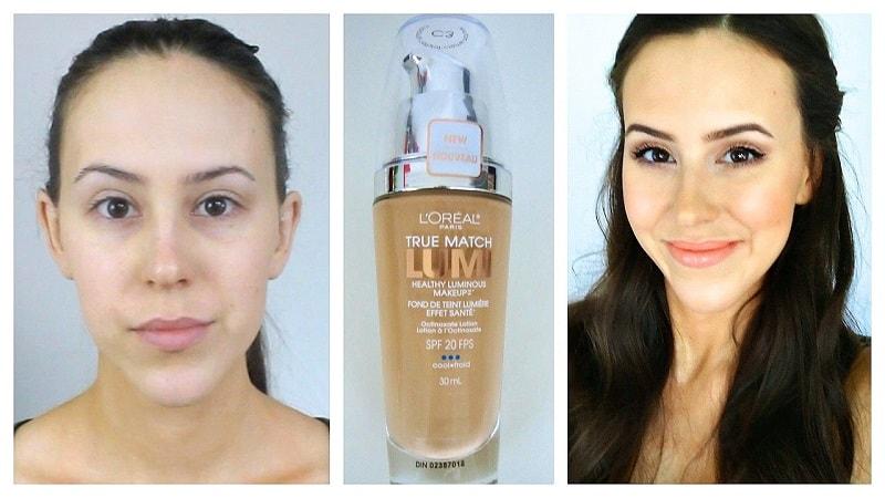 L'Oreal True Match Lumi Healthy Luminous Makeup
