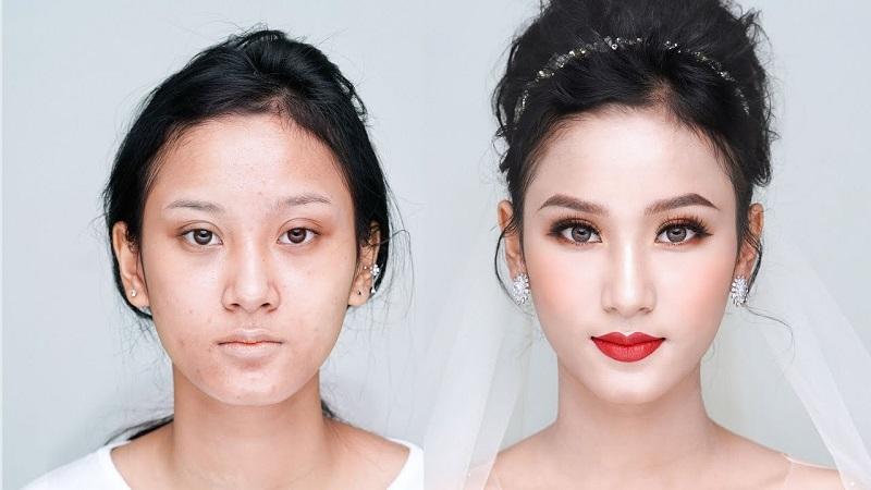 make up biến đổi gương mặt