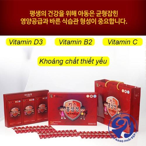 Hồng sâm sanga Hàn Quốc5