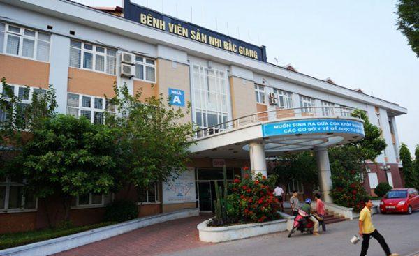 Bệnh việnSản Nhi Bắc Giang.
