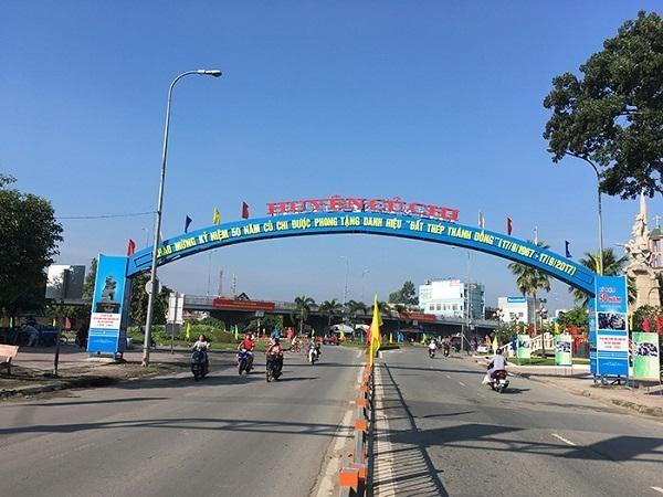 Khu vực củ chi Hồ Chí Minh