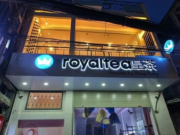 """Bảng hiệu đèn Led """"Royaltea"""""""