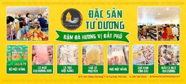 đặc sản Phú Yên Tư Dương