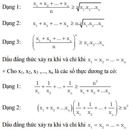 Một số kỹ thuật sử dụng bất đẳng thức Cauchy-1